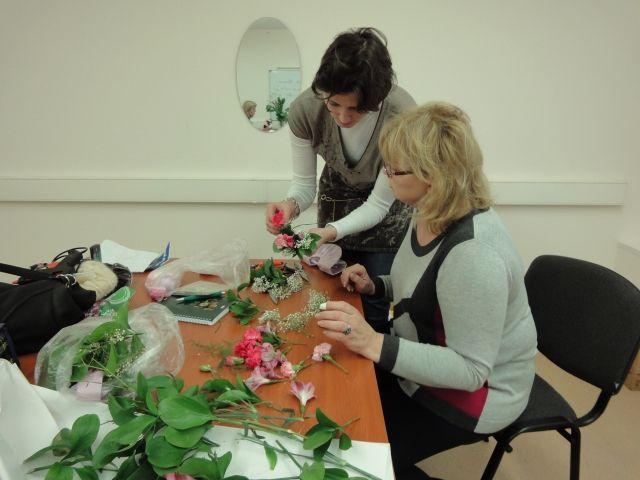 Курсы флористики в Москве | Цена на обучение