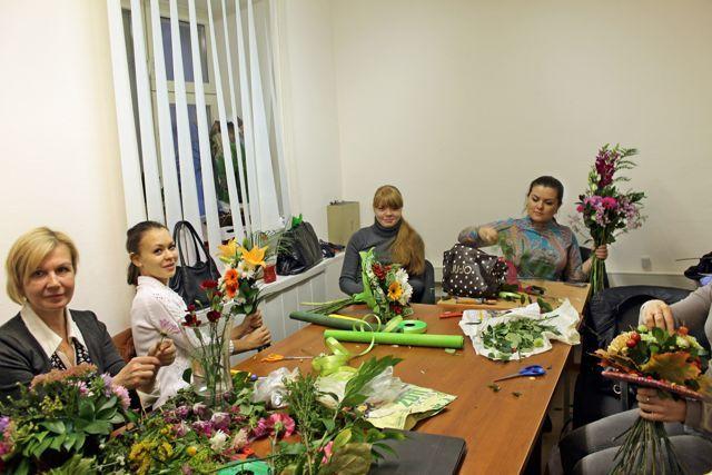 Курсы флористики в Москве в